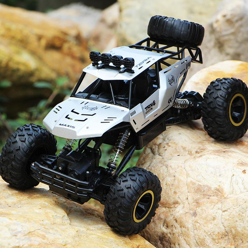 1/16 Rc coche 4wd escalada coche 4x4 Doble motores conducir Bigfoot coche Control remoto modelo todoterreno vehículos juguetes para niños regalo