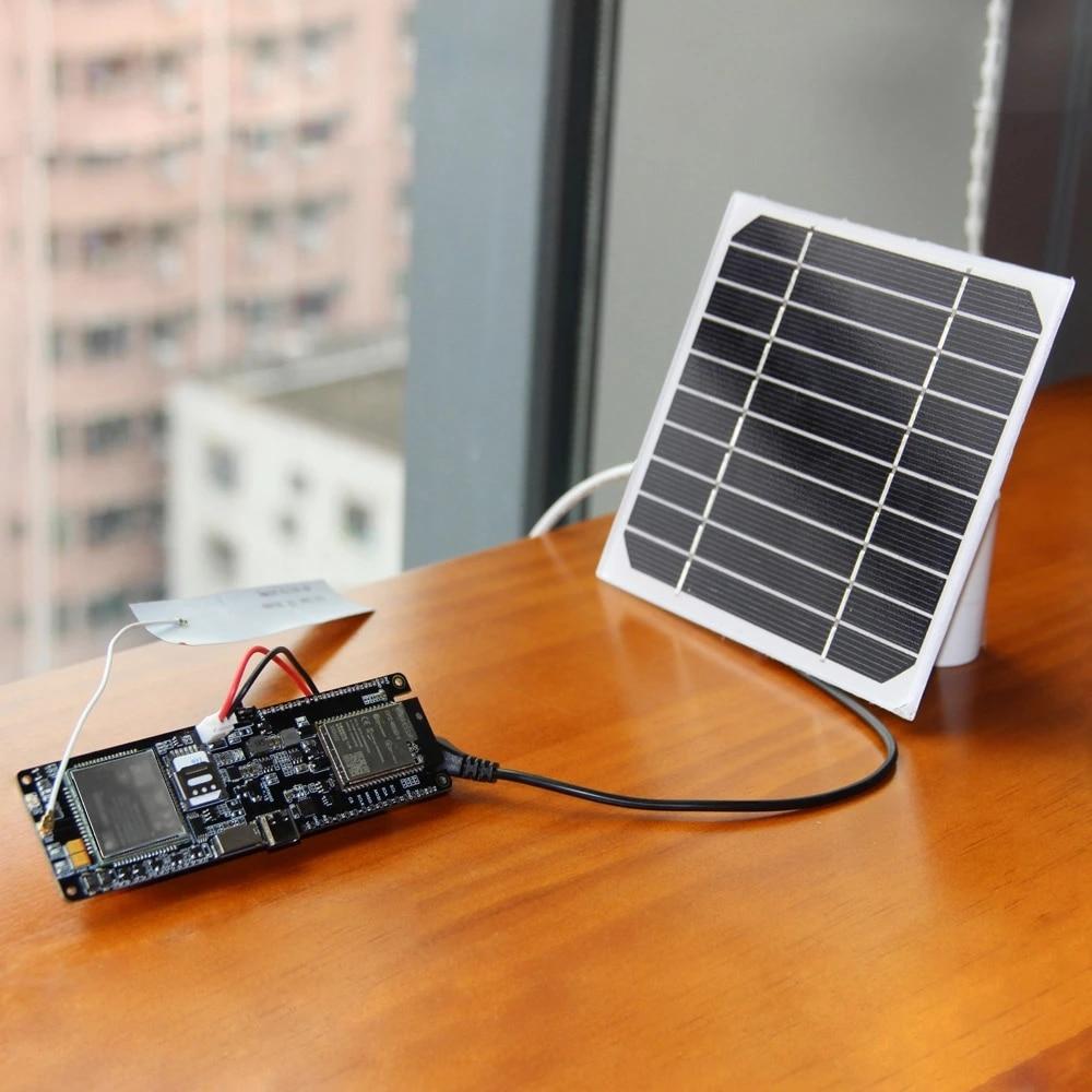 LILYGO® TTGO SIM7600E-H / SIM7600G-H 2R Module ESP32 Chip WiFi BLE 18560 Battery Holder Solar Charger Development Board enlarge