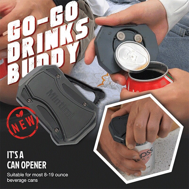 Фото - Father\'s Day Promotion- 32%OFF GO-GO Drinks Buddy  2021 Hot  Swing Universal Topless Can Opener The Easiest Can Bottle Opener dan rodricks father s day creek