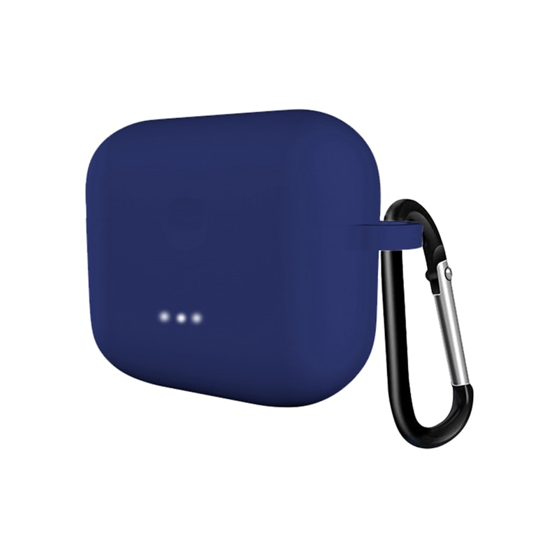 NUEVA cubierta suave mate para Anker Soundcord Liberty Air2 auriculares inalámbricos Bluetooth auriculares funda de silicona azul