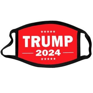 New Trump 2024 - I'Ll Be Back Personality Black Border Mask