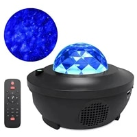 colorful starry sky ledprojector blueteeth usb voice control music player led night light romantic projection lamp romantic gift