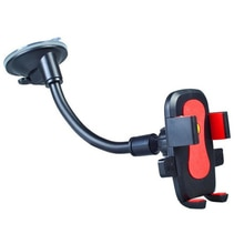 Car Windscreen Phone Holder Universal Mobile Phone Stand Smartphone Fixed Bracket Locking Suction Mount Auto Body Support