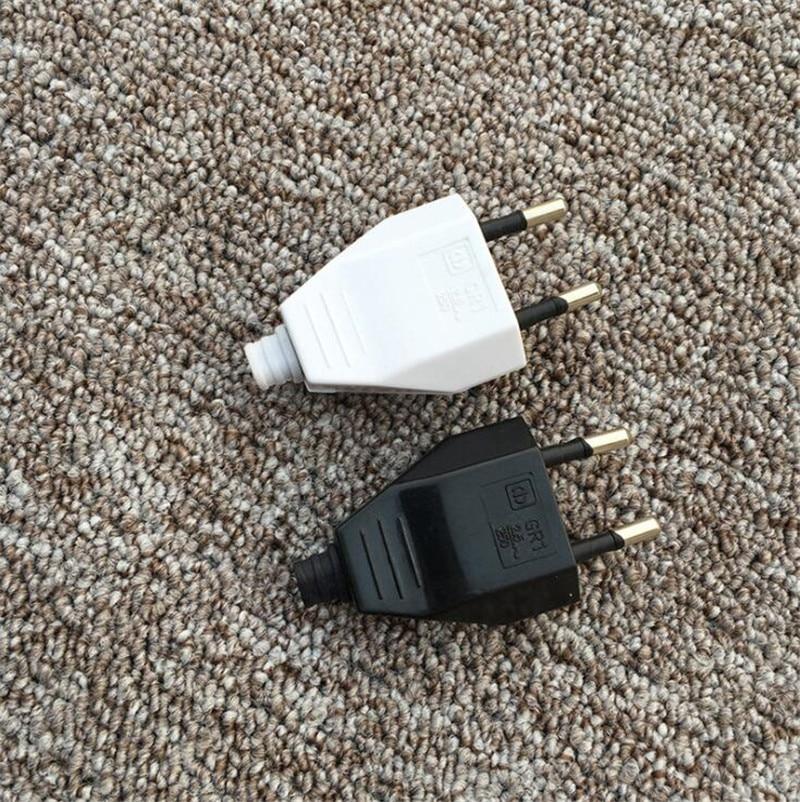 4,0mm de la UE hombre mujer trasero VDE cable de alimentación de enchufe de alimentación hembra Europa enchufe de la UE-luz Lámpara 2 core enchufe