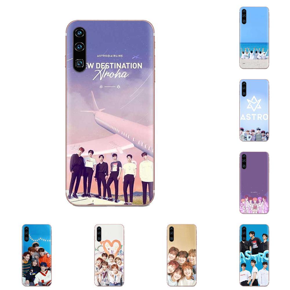 Kpop Astro Soft Capa Case For Samsung Galaxy Note 8 9 10 Pro S4 S5 S6 S7 S8 S9 S10 S11 S11E S20 Edge Plus Ultra