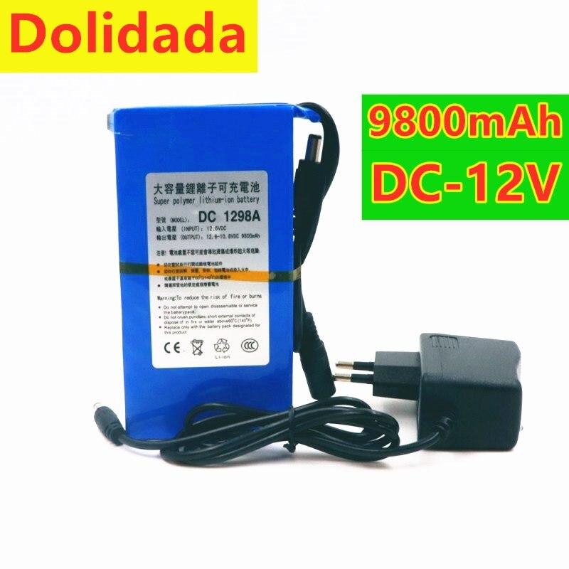 100% Durable DC 12 V 9800 MAH de Alta capacidad Super Poderoso...