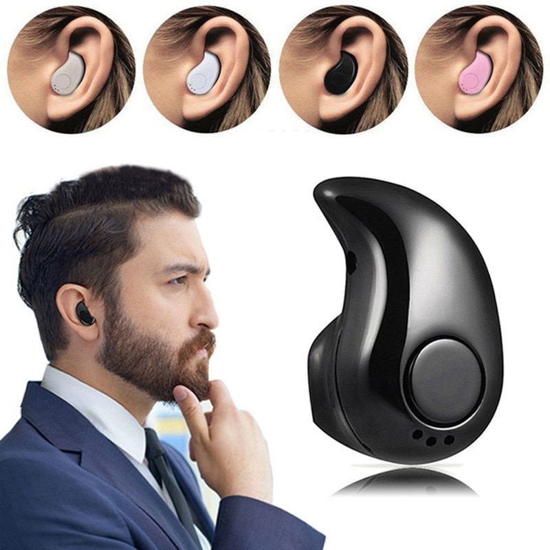 Mini Wireless Bluetooth Earphone in ear Sports Headset Earphones Earpiece with Mic All smartphones f