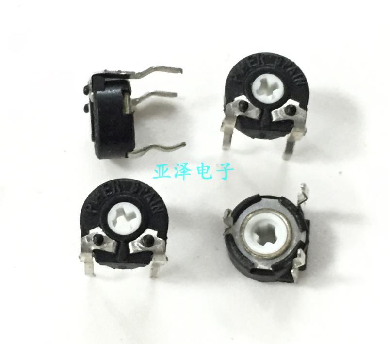 5 unids/lote importados de España PIHER potenciómetro ajustable, PT6KV--105A2020 horizontal 1M orificio transversal