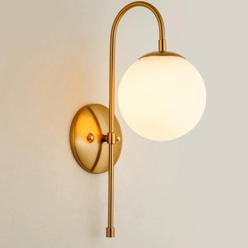 Moderno настенные светильники corda de luzes de teto ventilador de teto luminaria de parede de cabeceira corredor sala de jantar home deco
