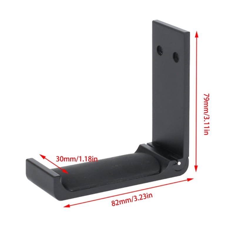 Universal Aluminum Alloy Headset Holder Adjustable Foldable Headphone Hanger High Quality enlarge