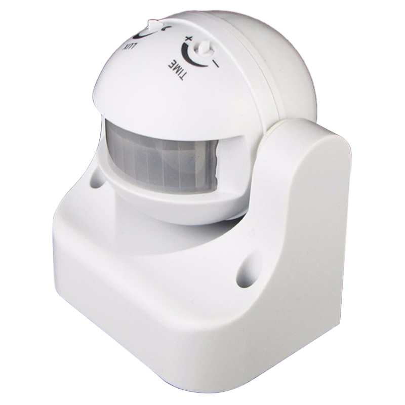 AAY-110V-240V Outdoor Ip44 180 Degree 50/60Hz Security Pir Motion Movement Sensor Detector Switch Infrared Motion Sensor Switch