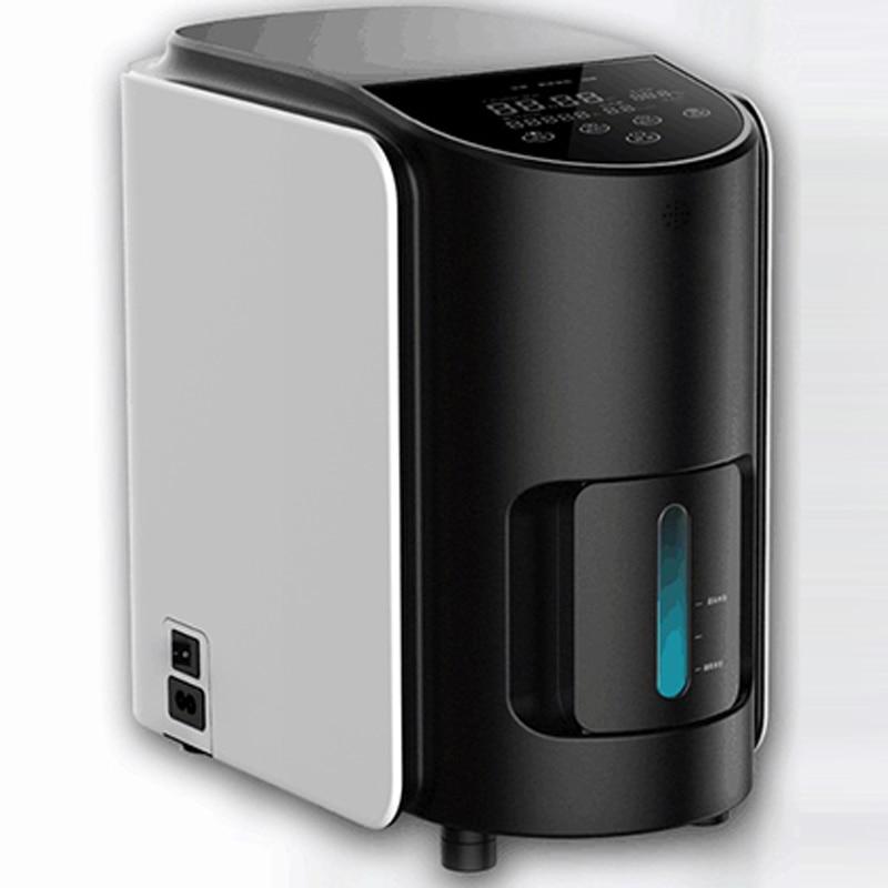 مُكثّف أوكسجين منزلي محمول صغير أكسجين آلة مسن نساء حامل أكسجين استنشاق آلة الانحلال