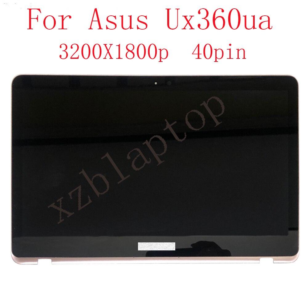 13.3 بوصة LCD ل ASUS Lingyao ZenBook الوجه UX360U UX360UA لمس الشاشة LP133QD1-SPD2 LCD شاشة 3200X1800 رار
