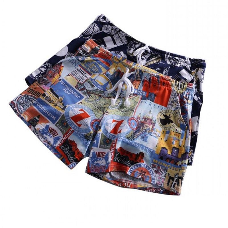 Ropa interior de Hombre Ropa interior transpirable fibra de bambú U convexo Corner hombres pantalones impresos Modal bóxer pantalones cortos