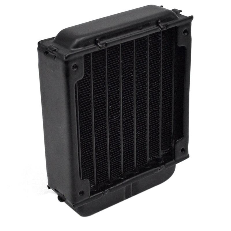 Radiador de refrigeración por agua de 80mm para ordenador, Chip CPU GPU VGA RAM, Enfriador de refrigeración por láser, intercambiador de calor de aleación de aluminio