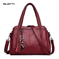 olsitti hot selling crossbody bags for women 2021 casual solid color handbags large capacity pu leather shoulder bag sac a main