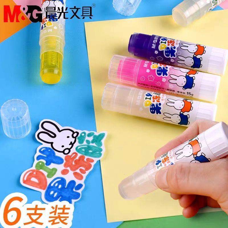 Chenguang jelly DIY pegamento sólido caramelo transparente cristal color alta viscosidad estudiante pegamento stick papelería