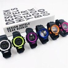 Children Watch Digital Sport Electronic Wrist Boys Girls Silicone LED  Adjustable Multifunction Cloc