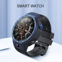 multifu gps smart watch 4g wifi with 5mp front camera round screen heart rate pedometer bracelet business watch for women men