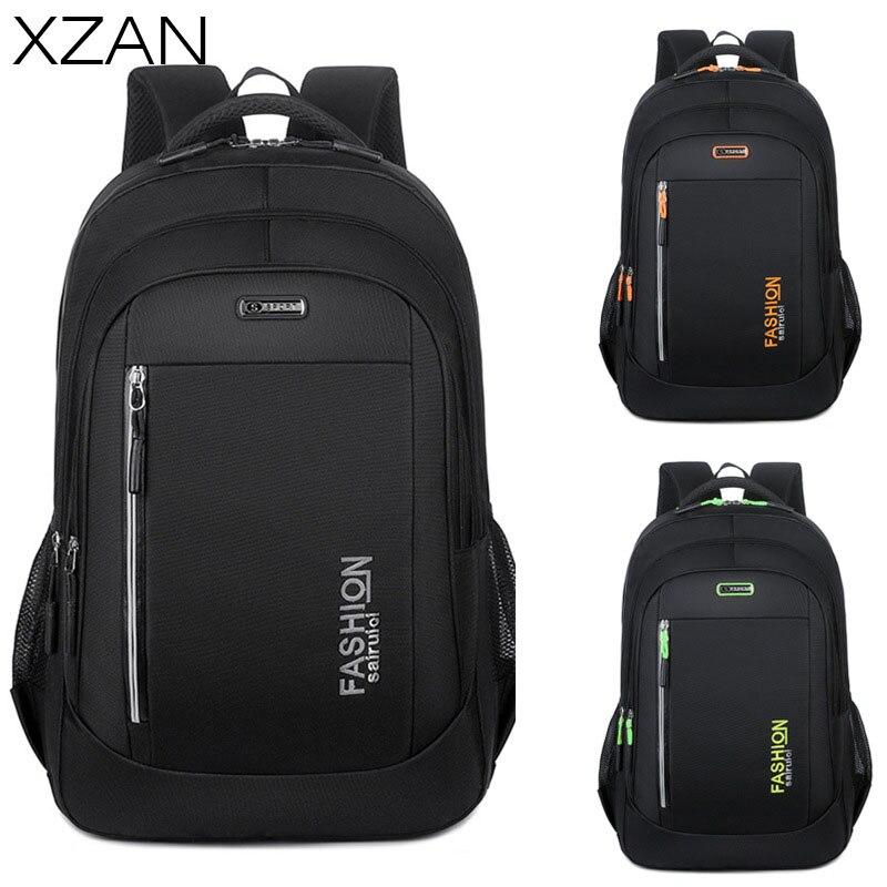 Мужской деловой рюкзак, вместительные повседневные дорожные рюкзаки, мужской брендовый дизайнерский трендовый Многофункциональный вмест...