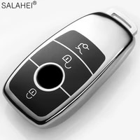 soft tpu car key cover case protective for mercedes benz 2017 e class w213 2018 s class accessories for car styling accessories