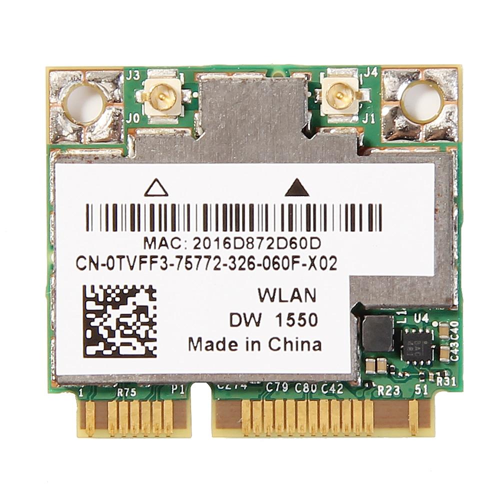 Wireless AC1200 BCM94352HMB Dual Band Mini PCI-E Laptop Wifi Card AW-CE123H DW1550 1200Mbps 802.11ac Bluetooth 4.0
