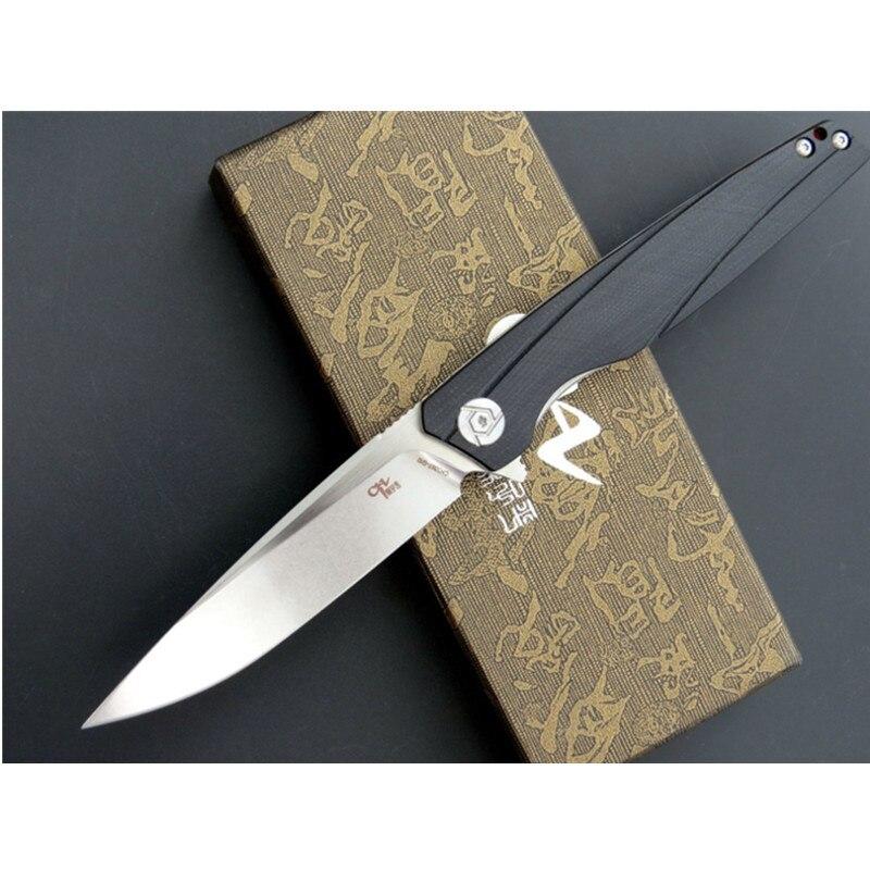 CH3007 سكين للفرد D2 شفرة G10 مقبض بقاء التخييم الصيد السكاكين سكينة فاكهة في الهواء الطلق EDC أداة