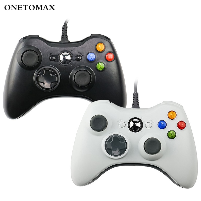 USB Wired Gamepad For PC Controller For Microsoft Windows 7 / 8 / 10 Controle Joystick Not for Xbox 360 Game Controller Joypad