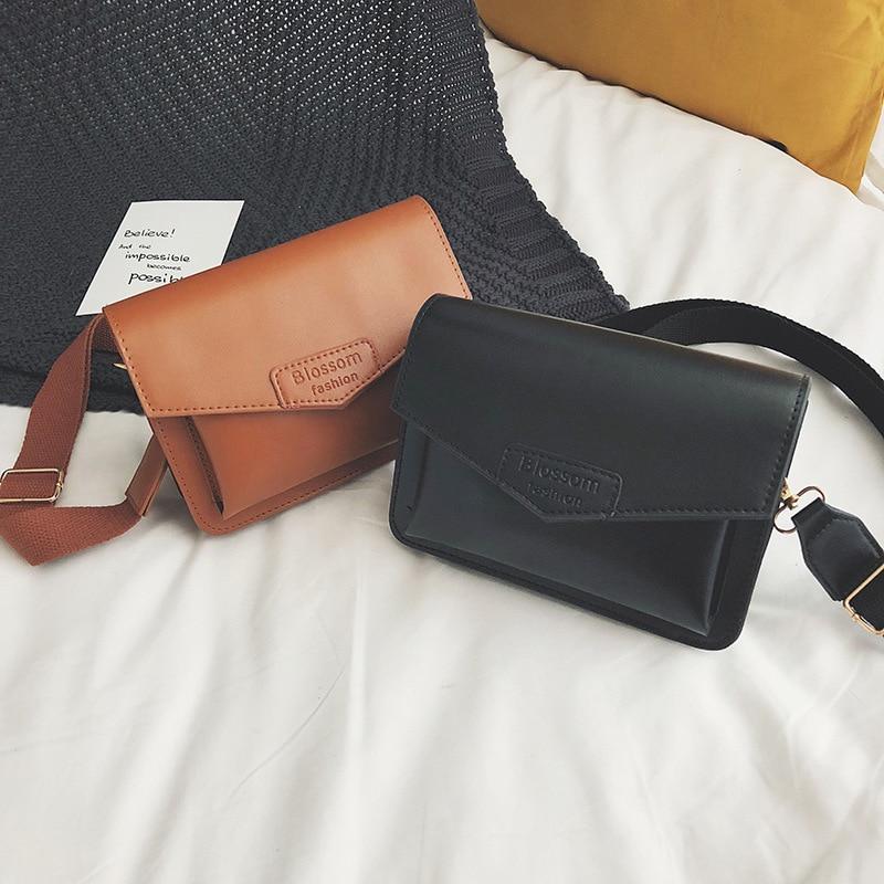 Bolso de mujer 2018 novedad de verano estilo Corea del Sur INS Super Fire elegante bai da xiao cuadrado bolso elegante de moda bolso con diseño oblicuo
