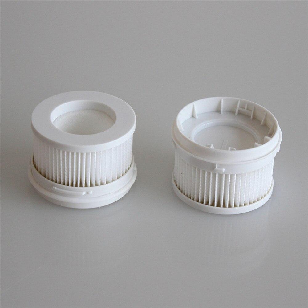 2 pçs filtros hepa aspirador de pó filtro para xiaomi mijia 1c scwxcq02zhm sem fio handheld aspirador de pó acessórios