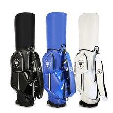 Nueva bolsa de Golf para hombres y mujeres, bolsa de carrito, polea de remolcador, bolsa portátil, rueda móvil impermeable PU