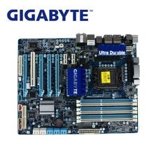 Utilisé LGA 1366 pour Intel X58 Gigabyte GA-X58A-UD3R carte mère DDR3 USB3.0 24GB SATA III X58A UD3R carte mère de bureau