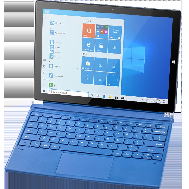 كمبيوتر لوحي 2 في 1 ، 12.3 بوصة ، IPS ، 2880 × 1920 ، 4G ، LTE ، FDD ، Pipo ، W12 ، windows 10 ، 8 gb ، 256G ، Qualcomm ، Snapdragon 850 ، WIFI ، BT5.0 ، Netbook