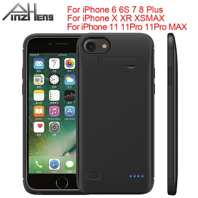 PINZHENG 6200mAh Battery Charger Case For iPhone
