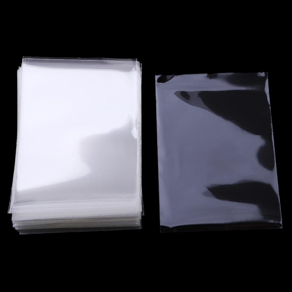Набор из 100 водонепроницаемых рукавов для карт, рукавов, защитных рукавов