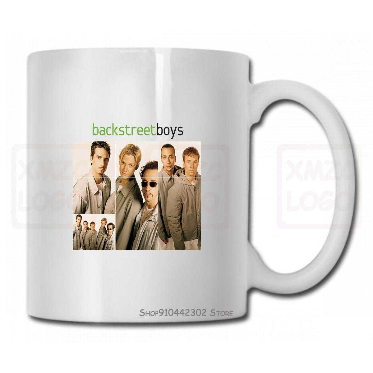 Backstreet Boys American Vocal Group hommes blanc Tmug tasse taille S à 3Xl femmes hommes