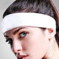 sweatbands cotton sports headbands terry cloth moisture wicking athletic basketball headband women men adults