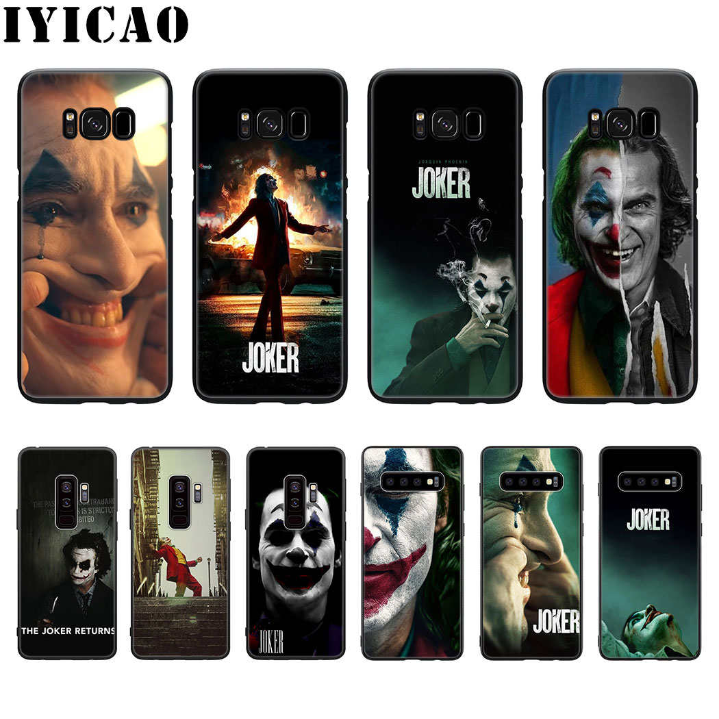 joker Joaquin Phoenix movie Soft Silicone Case for Samsung Galaxy S20 S10 S9 S8 Lite Plus Ultra S10E S6 S7 Edge Phone TPU Cover