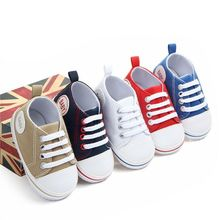 Newborn Baby Infant Soft Sole Crib Shoes Anti-Slip Toddler Boy Girl Shoes Lovely Prewalker First Wal