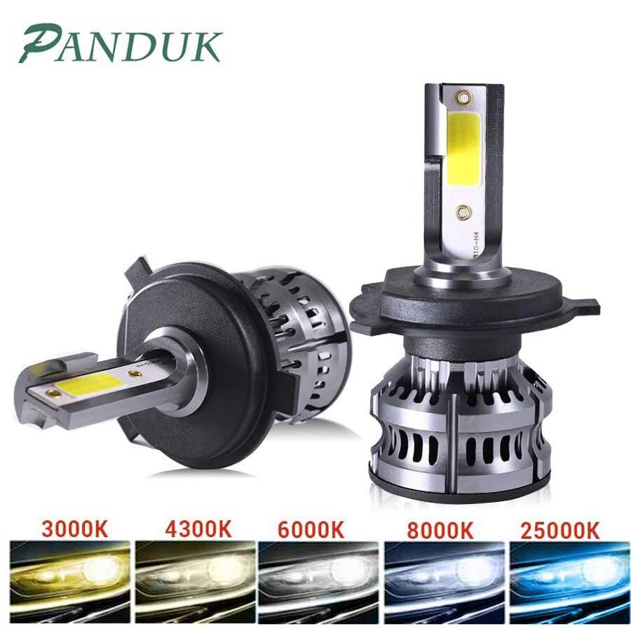 AliExpress - PANDUK 14000LM Car Haedlight H4 H7 H1 LED H8 H9 H11 LED 4300K 5000K 6500K 8000K 25000K Auto fog Light 12V LED Bulb