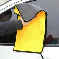 car coral fleece auto wiping rags efficient super absorbent microfiber cleaning cloth home car washing cleaning towels