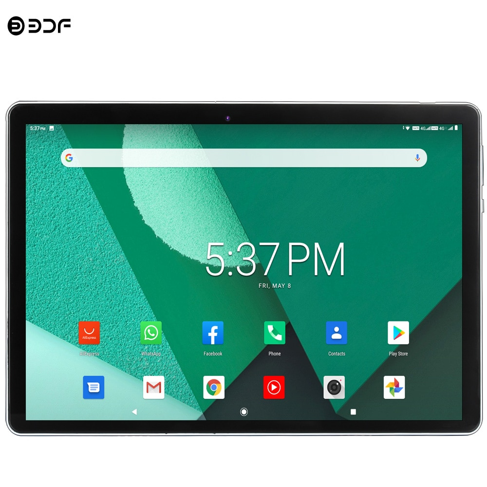 New Arrivals 10.1 Inch 4G LTE Phone Tablet Pc Android 9.0 Octa Core BDF Brand Dual 4G SIM Google Play WiFi Bluetooth GPS Tablets