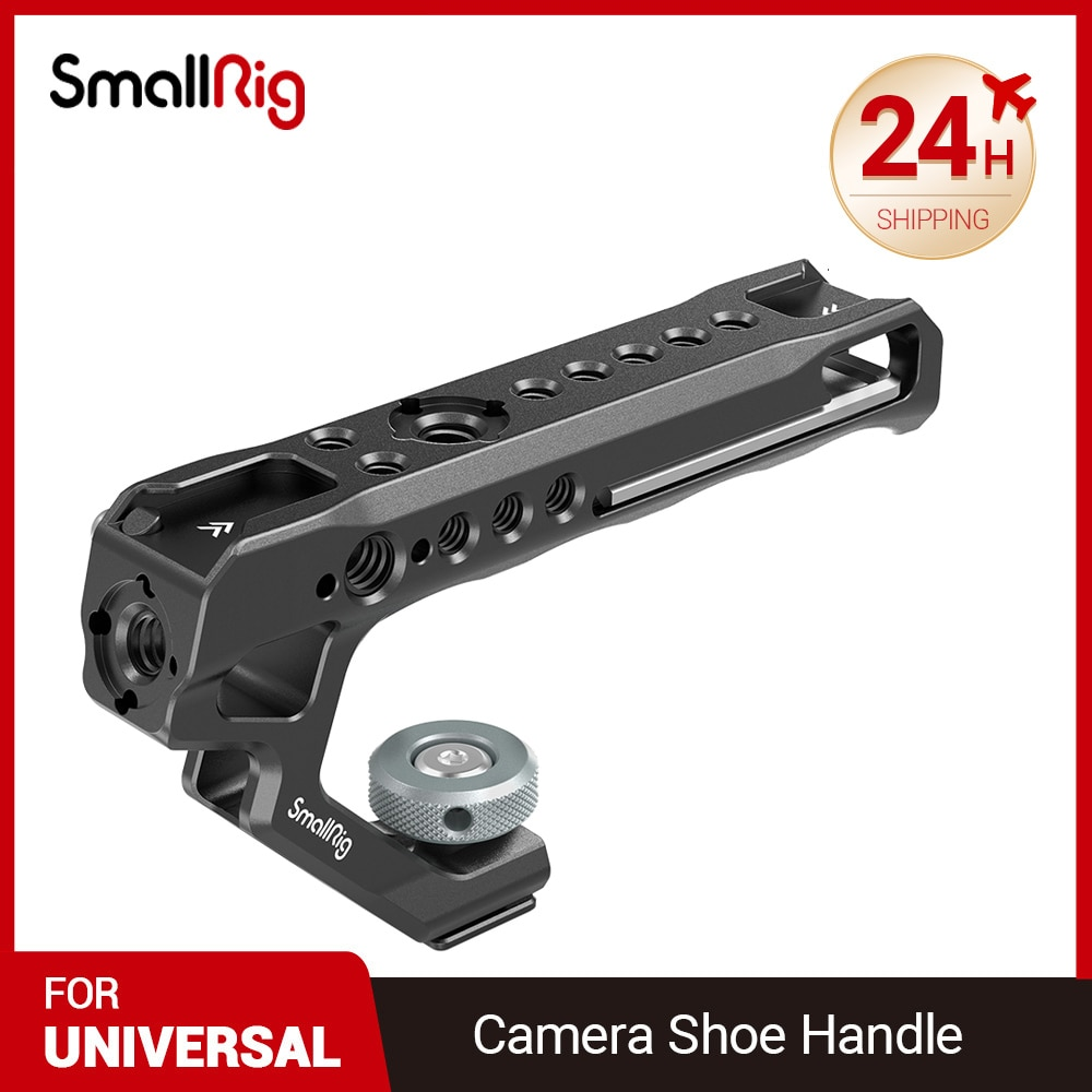 كاميرا صغيرة مقبض فيديو مقبض قبضة استقرار الإفراج السريع مقبض الحذاء للكاميرات يده اطلاق النار مقبض علوي قبضة جانبية 2094C