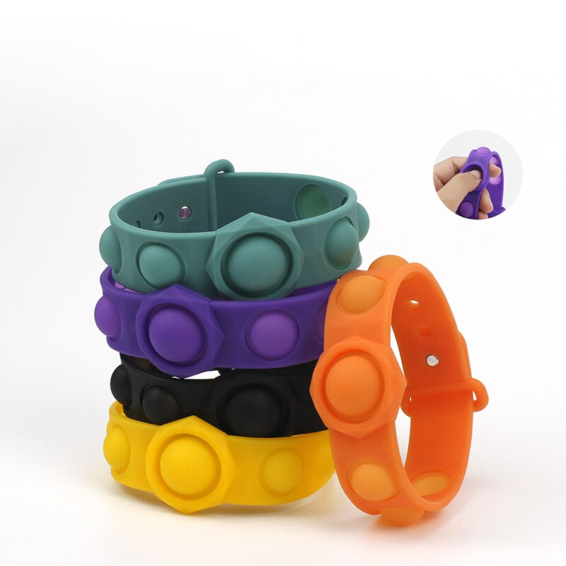 Newest Fidget Simple Dimple Toy Pops It Toys Stress Relief Hand Fidget Toys For Kids Adults Educational Autism Special Need enlarge