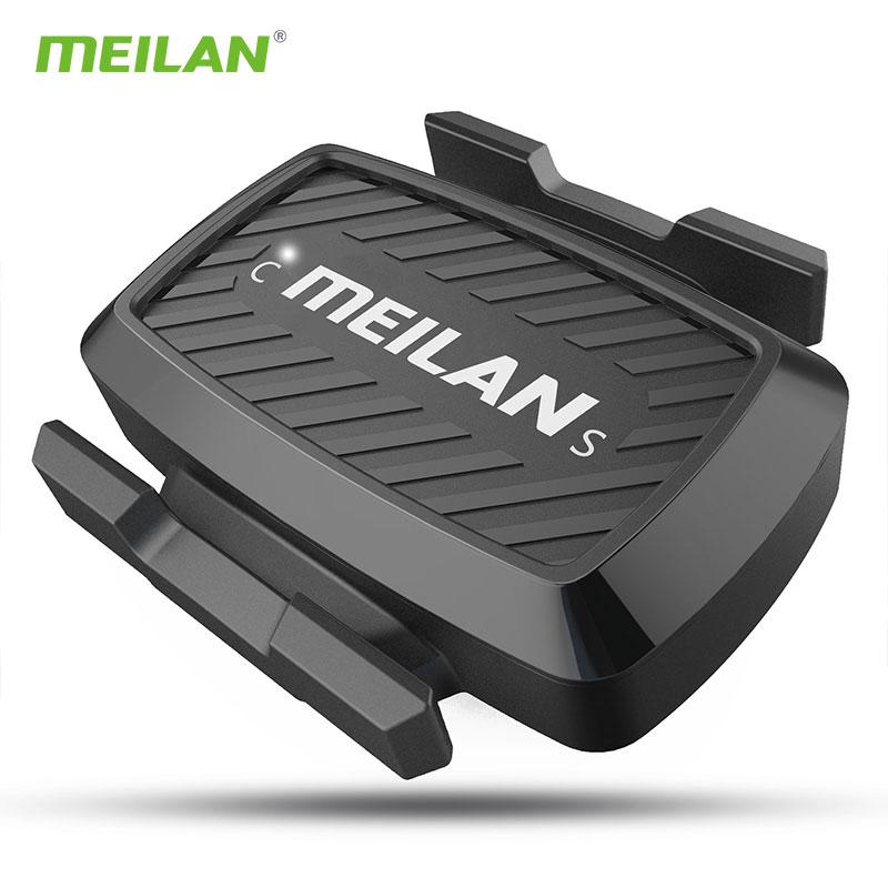 Meilan C1 Bicycle senser Bike Cadence Speedometer sensor Cycling Bluetooth4.0/ ANT+ indoor Spinning cadence training C3