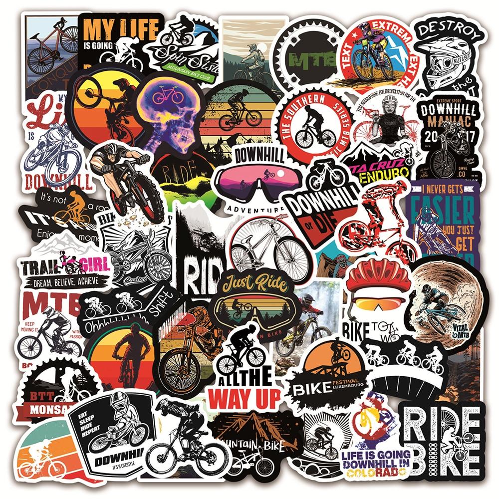 aliexpress.com - 10/30/50/100PCS Mountain Bike MTB Graffiti Stickers Laptop Guitar Luggage Skateboard Car Waterproof Cool Sticker Decal Kids Toys