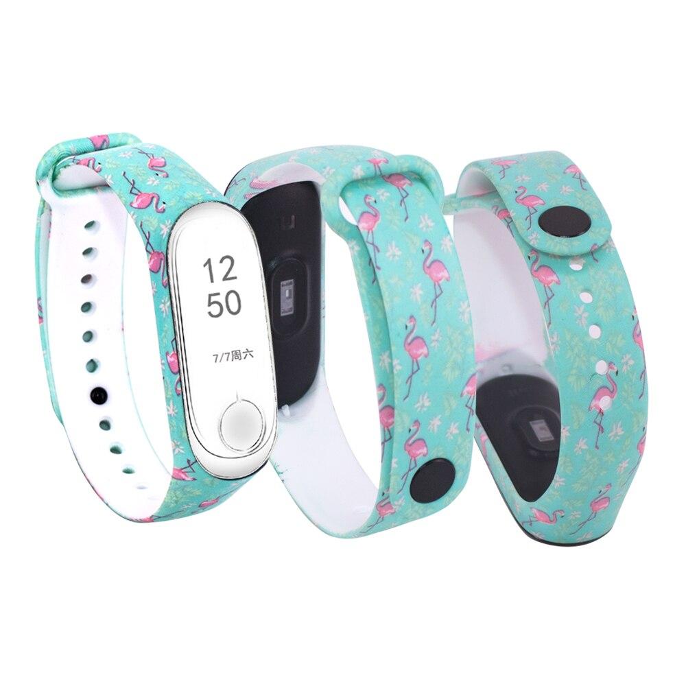 Correa de reloj inteligente de moda para Xiaomi Banda 3 accesorios de silicona para mi Band 3 pulsera para mi Band 3 para mi band 3 correa