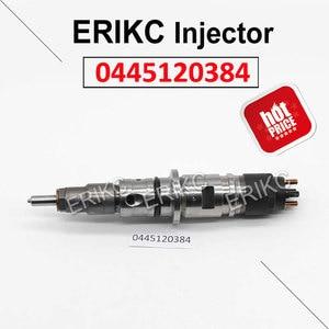 ERIKC 0445120384 Auto Fuel Pump Injector Parts 0 445 120 384 Diesel Engine Injector Nozzle 0445 120 384 For Bosch Cummins