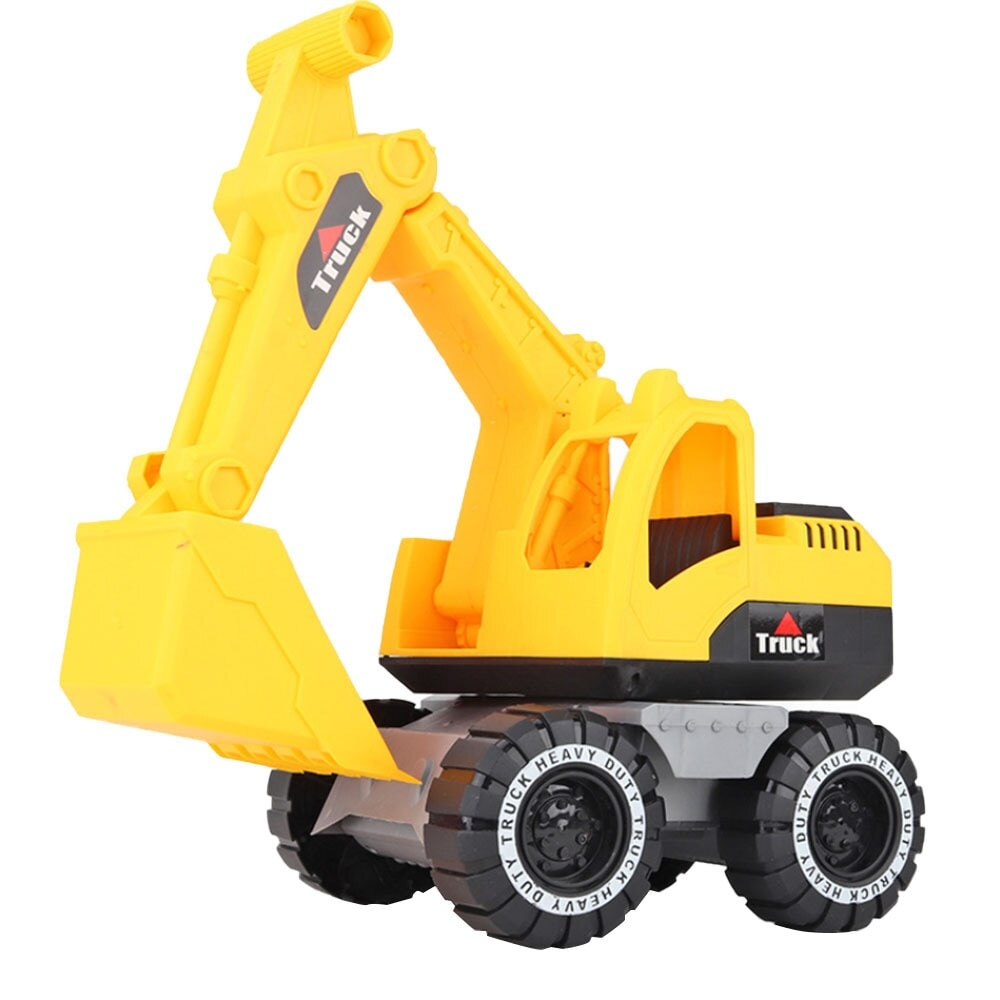 Baby Simulation Engineering Car Toy Excavator Model Tractor Toy Dump Truck Model Car Toy Mini Gift for Boy new baby classic simulation engineering car toy excavator model tractor toy dump truck model car toy mini gift for kids boy