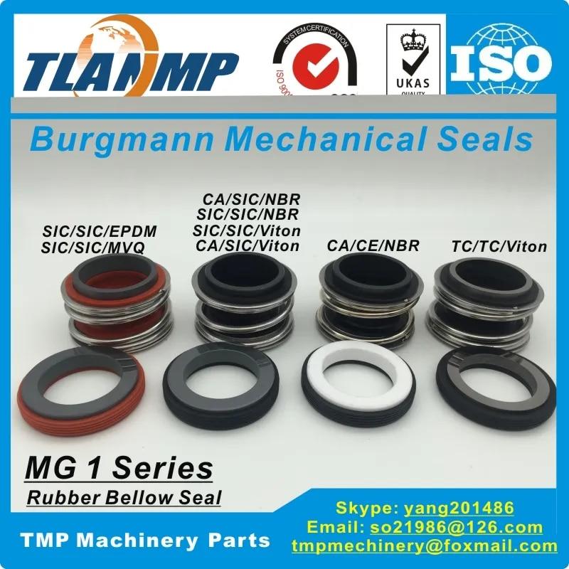 Joints mécaniques TLANMP Burgmann pour pompes à eau avec siège fixe G60, MG1/65-G60, 109 – 65